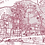 Thumbnail: Print of University of Alabama and all its roads