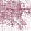 Thumbnail: Print of Omaha, NE and all its roads