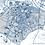 Thumbnail: Print of Duke University and all its roads
