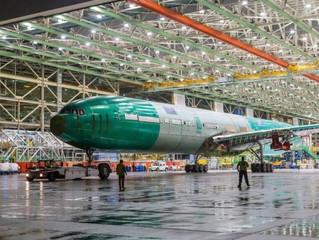 Primeiro voo teste do Boeing 777X tomando forma