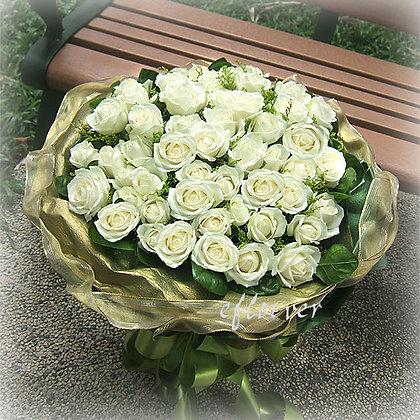 奢華白玫瑰