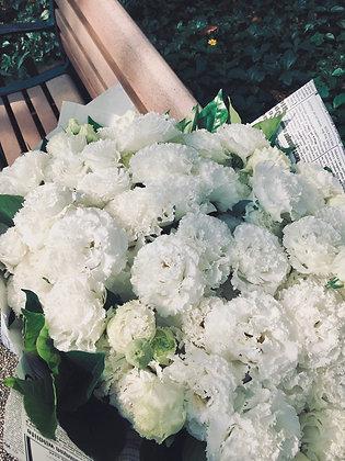 永恆摯愛99朵白桔梗
