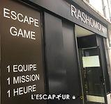 Le Musée - Rashomon Escape Game Paris