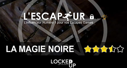 MAGIE NOIRE LOCKED UP