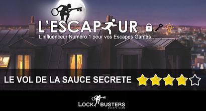 LE VOL DE LA SAUCE SECRETE PAR LOCKBUSTERS