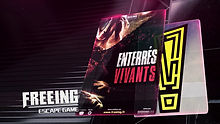 ENTERRES VIVANTS - FREEING ESCAPE GAME