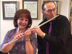 with my flute partner Steve Markoff