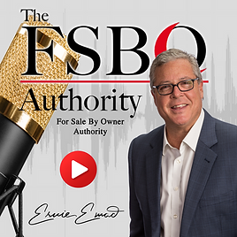 FSBO Authority Podcast Logo With Picture