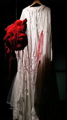 Textile installation by Sofie Dieu - KBIM project - NIDA & Black Dog Institute