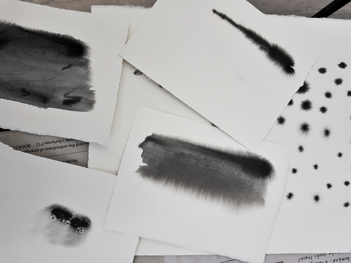 Warrnambool abstract ink workshop March 2019