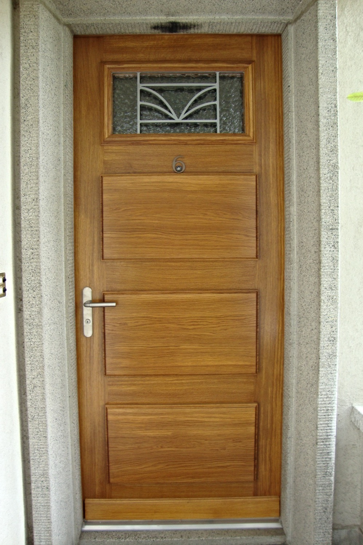 Porte d'entrée sur mesures