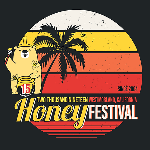 2019 Honey Festival Retro Shirt