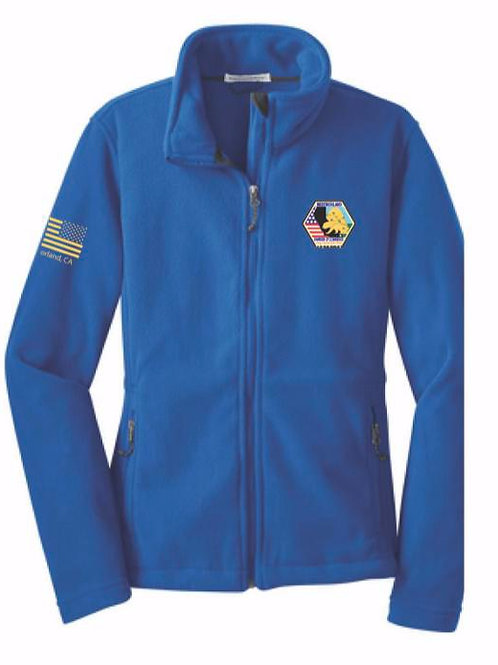 Blue Fleece Chamber of Commerce Jacket