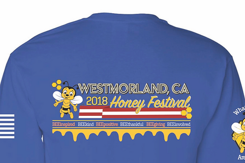 2018 Blue Short Sleeve Shirt