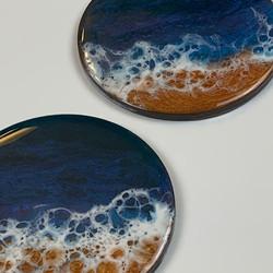 Round Beach Coasters