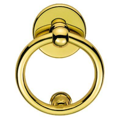 Door Knocker in polished brass