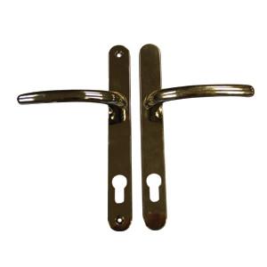 Balmoral Lever Handle polished chrome