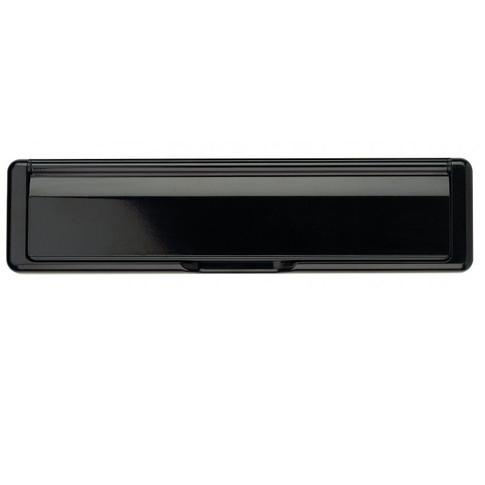 Letter Plate Set in black