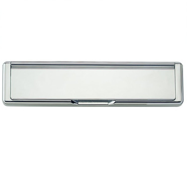 Letter Plate Set in polished  chrome