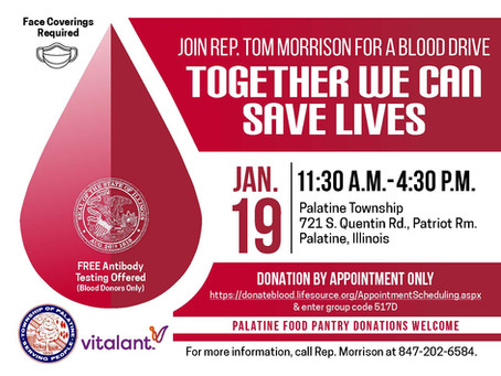 State Rep. Morrison's Blood Drive