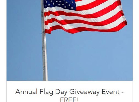 Annual ROEGT Flag Day Giveaway Event!