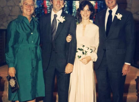 Happy anniversary to former President George W. Bush and First Lady Laura Bush!