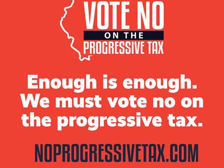 Vote NO on the Progressive Tax