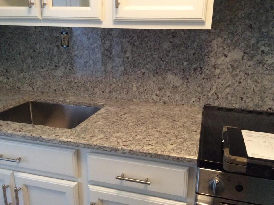 Granite with High Backsplash