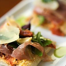 Bruschetta med Parmaskinke & Brie