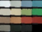 Poolside & Paving Web Colour Swatch Arra