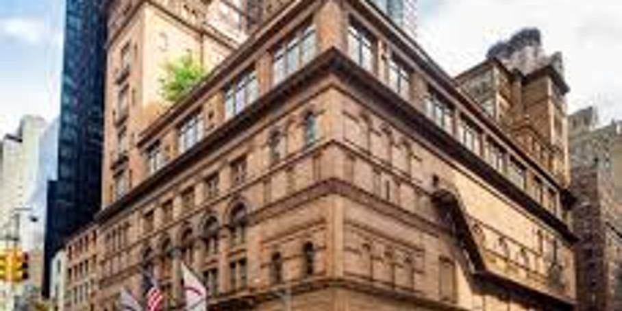 Alma at Carnegie Hall