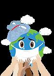 cute-sick-earth-coronavirus-attacking-ea