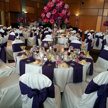 Another beautiful wedding setup at UW Parkside