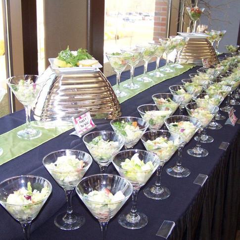 Martini Dessert Station at UW Parkside