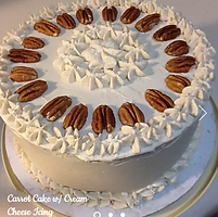Carrot Cake with Cream Cheese Frosting.P