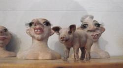 Der Koch, das Schwein und seine Frau