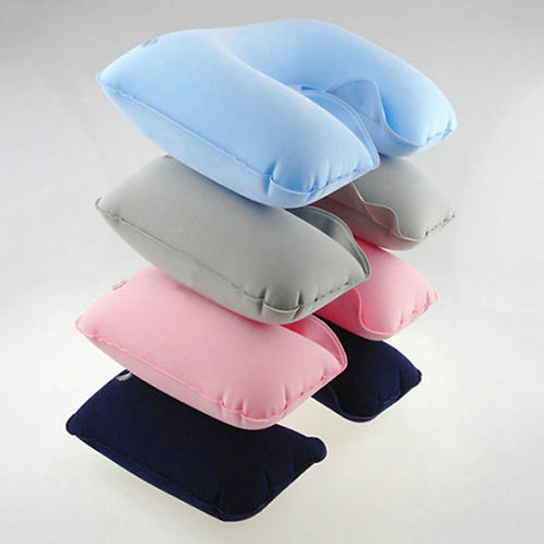 Inflatable soft head neck rest