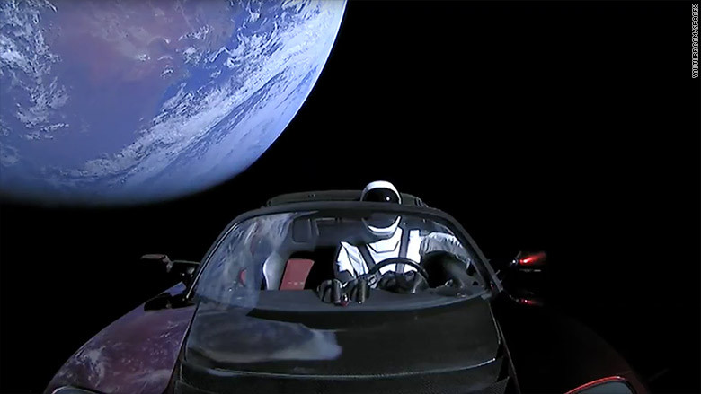 Starman Tesla SpaceX