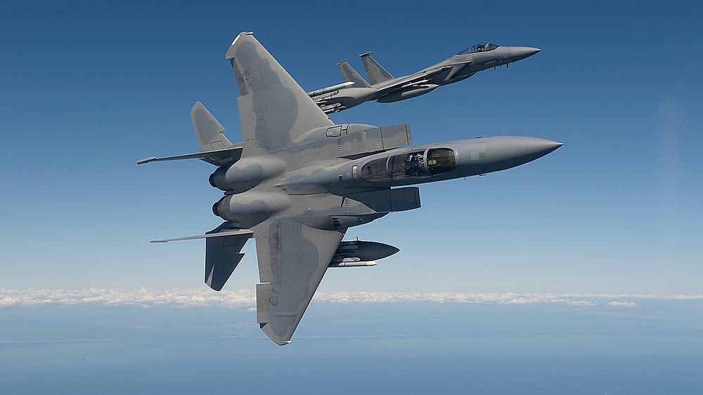 F15 in Flight
