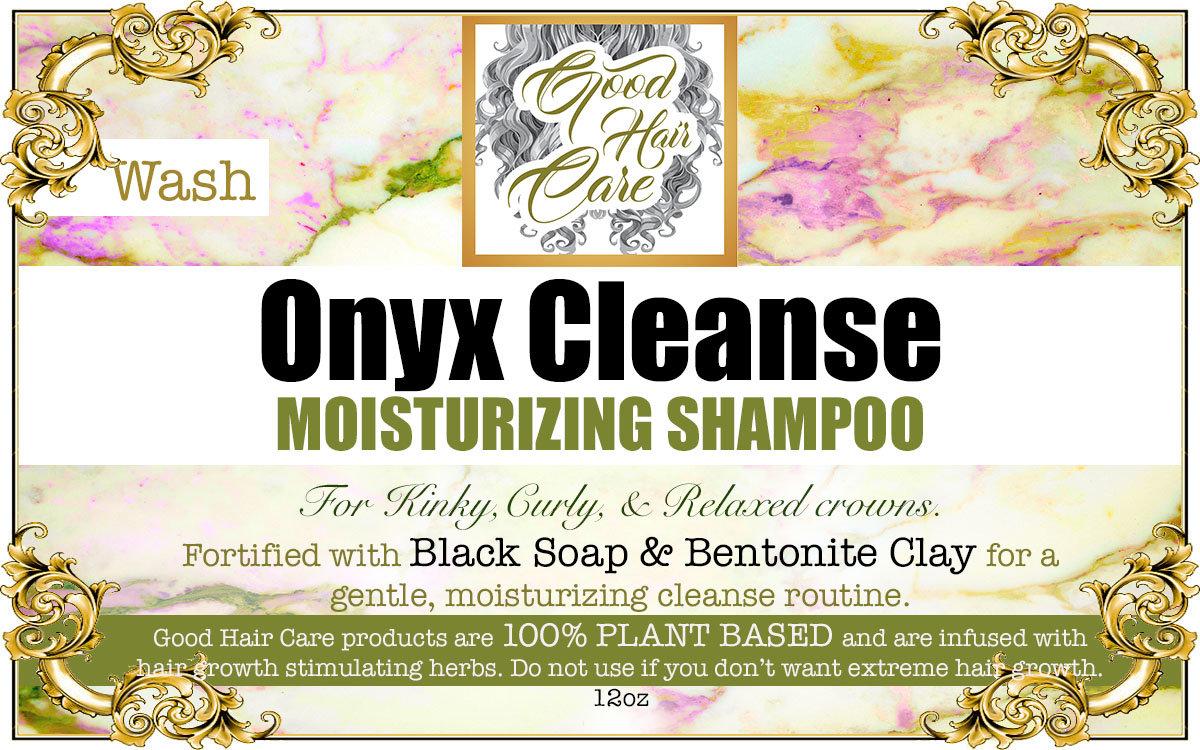 Onyx Cleanse Detox Shampoo
