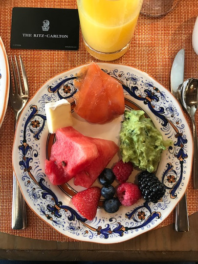 Breakfast Le Bistro The Ritz-Carlton Bac