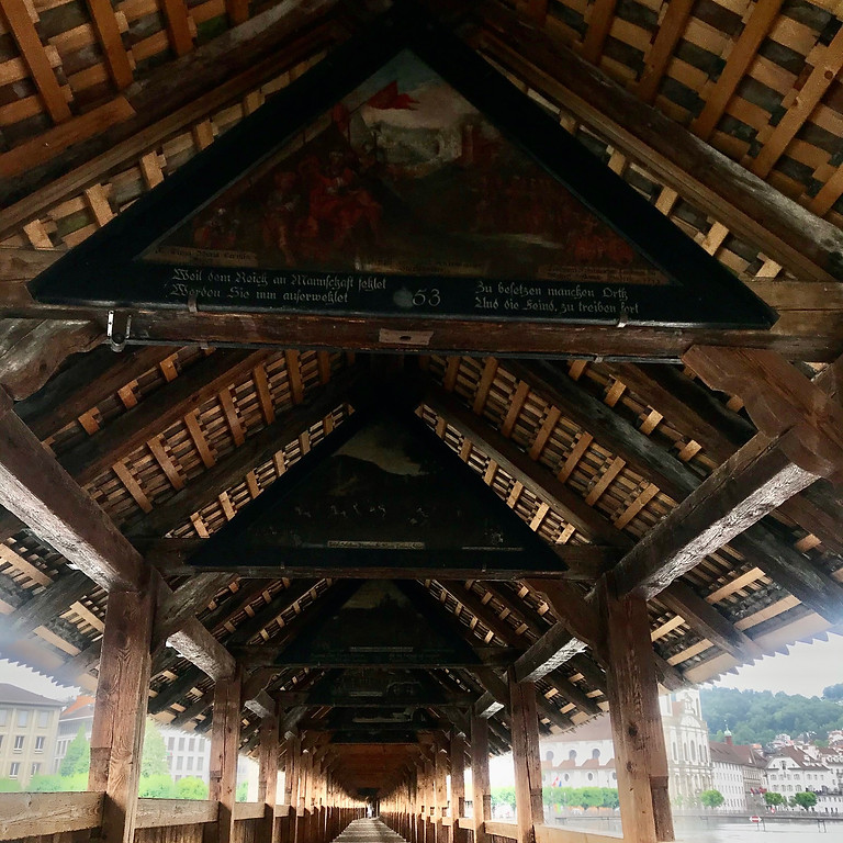 The three wooden bridges of Lucerne - a private tour with Pearls of Switzerland