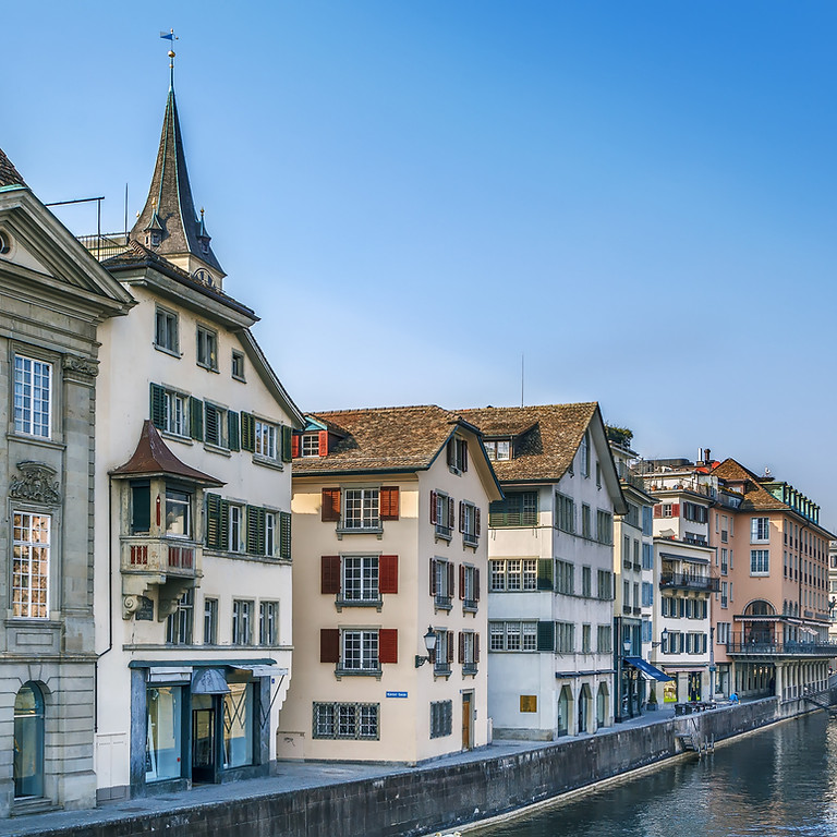 Private city walking tour Zurich for first time visitor's