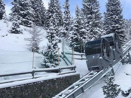 Tschuggen Express private mountain railw