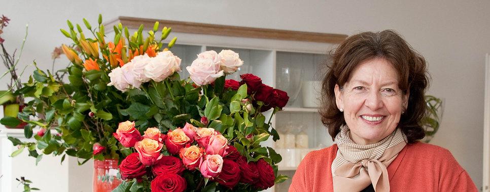 Belflor Blumen Luzern, Irma Schaller, Rosen, Blumen