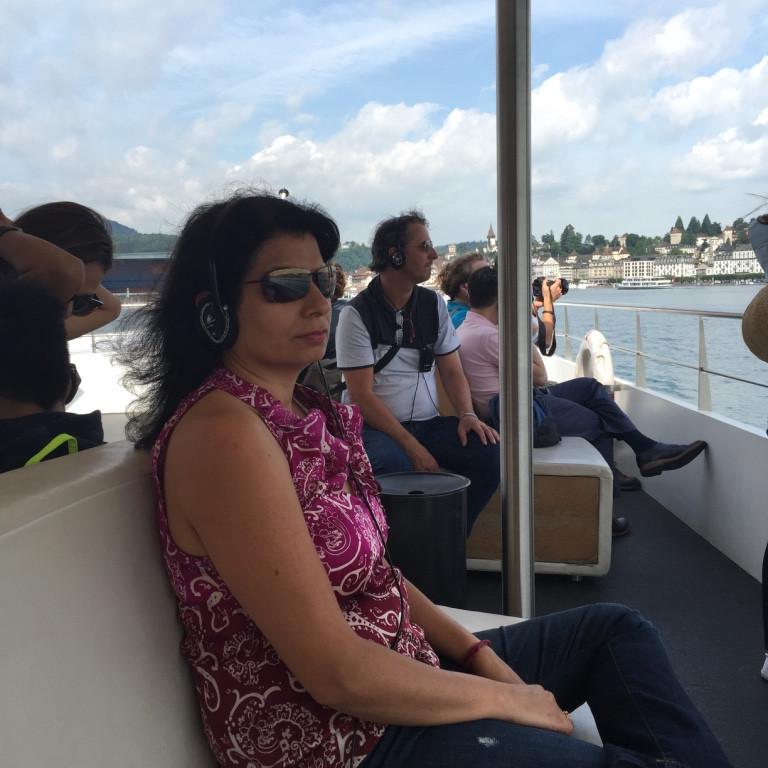 1h boat cruise on Lake Lucerne