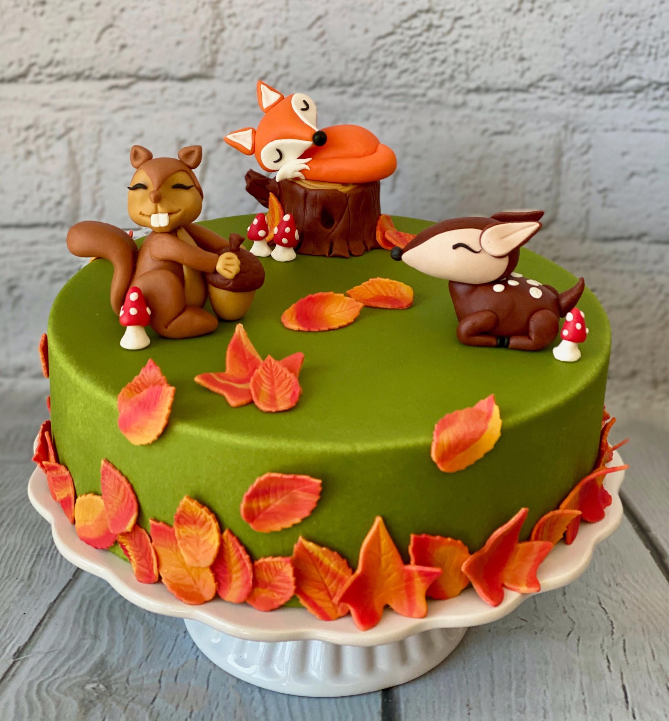 Herbst Torte