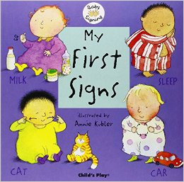 My First Signs BSL Board Book by Childs Play