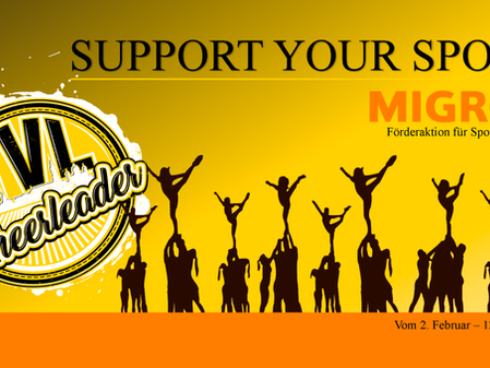 SUPPORT YOUR SPORT - MIGROS FÖRDERAKTION