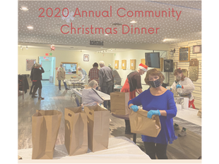 A very special Community Christmas Dinner in a time that it was truly needed.